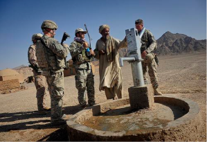 In Afghanistan, the US Government is involved in millions of big and small reconstruction projects that will continue well beyond 2014.  This involves national highways, regional buildings, local schools, remote irrigation projects, and many other opportunities. http://www.isaf.nato.int.