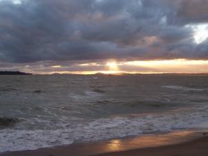 Stormy Sunset in Punta del Este
