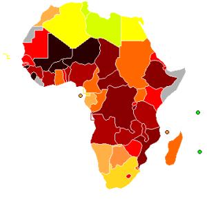 Photo Credit: 2006 UN HDI report via Wikimedia Commons