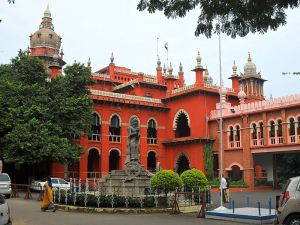 Chennai:  Madras High Court Photo Credit: Milei.vencel via Wikimedia Commons