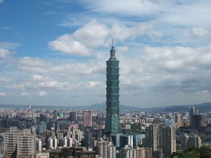 TaiPei Photo Credit: Trcheng via Wikimedia Commons
