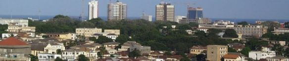 Skyline of Capital, Accra Photo Credit: Elegant Machines via Wikimedia Commons