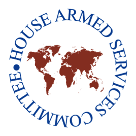Seal of the House Armed Services Committee.  This committee, along with the Senate Armed Services Committee, is responsible for shaping general defense policies of the United States Armed Forces, including reforming the Department of Defense, counter-drug operations, acquisition and industrial base, and ongoing military operations.   In FY14 National Defense Authorization Act, the Committee will have to make very difficult choices between defense spending and dwindling resources.  Courtesy of http://armedservices.house.gov