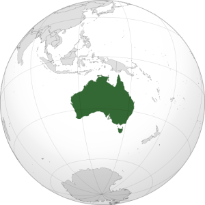 Map of Australia Photo Credit: Addicted04 via Wikimedia Commons
