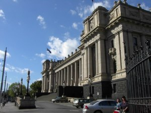 Parliament House in Melbourne Photo Credit: Adam Carr via Wikimedia Commons