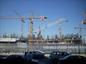 Construction Site in Chile Photo Credit: oreopriest via Wikimedia Commons