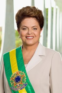 Brazilian President, Dilma Rousseff  Photo Credit: Dantadd via wikimedia commons