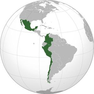 Countries of the Pacific Alliance: Chile, Colombia, Mexico & Peru photo credit: Goldstarsuper via wikimedia commons