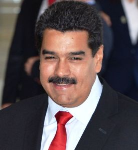 Venezuelan President, Nicolas Maduro Photo Credit: Alexanderps via wikimedia commons