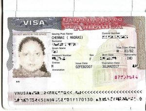 US B-1 Visa  Photo Credit: Muzi via Wikimedia Commons