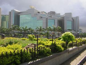 National Stock Exchange of India  Photo Credit: Wikimedia Commons