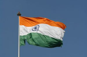Flag of India Photo Credit: Wikimedia Commons