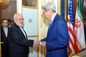 Currently, the United States and Iran are engaged in extensive negotiations over Iran's nuclear program.  Depending on the outcome, certain sanctions could be lifted against Iran.  This would open its oil, gas, technology, human resources, natural resources, automotive, airline, hospitality and tourism, and many other industries to foreign direct investment, and it would create billions of dollars' worth of business opportunities in Iran and the world.   Courtesy of http:// http://en.wikipedia.org