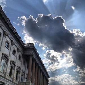 """A hot June summer afternoon on Capitol Hill. (9136720373)"" by USCapitol - A hot June summer afternoon on Capitol Hill.. Licensed under Public Domain via Wikimedia Commons"