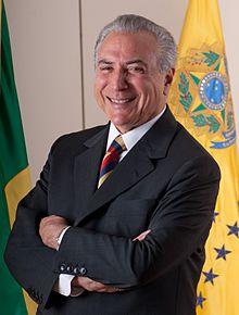 Brazilian President Michel  Temer (Wikipedia)