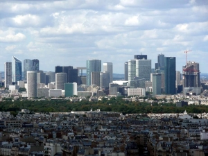 Paris offers the largest business district in Europe that is only 3 hours away from Brussels. With its highly trained workforce and high quality life, many businesses seriously consider relocating to Paris. Courtesy of http:// http://en.wikipedia.org